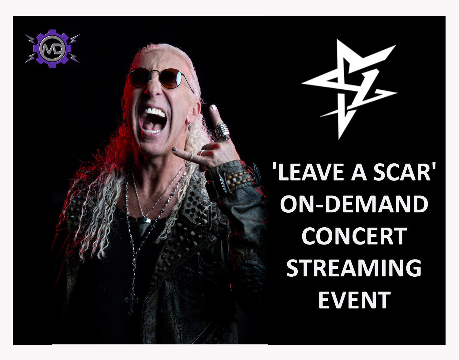 DEE SNIDER 'Leave A Scar' On-Demand Concert Streaming Event from New York