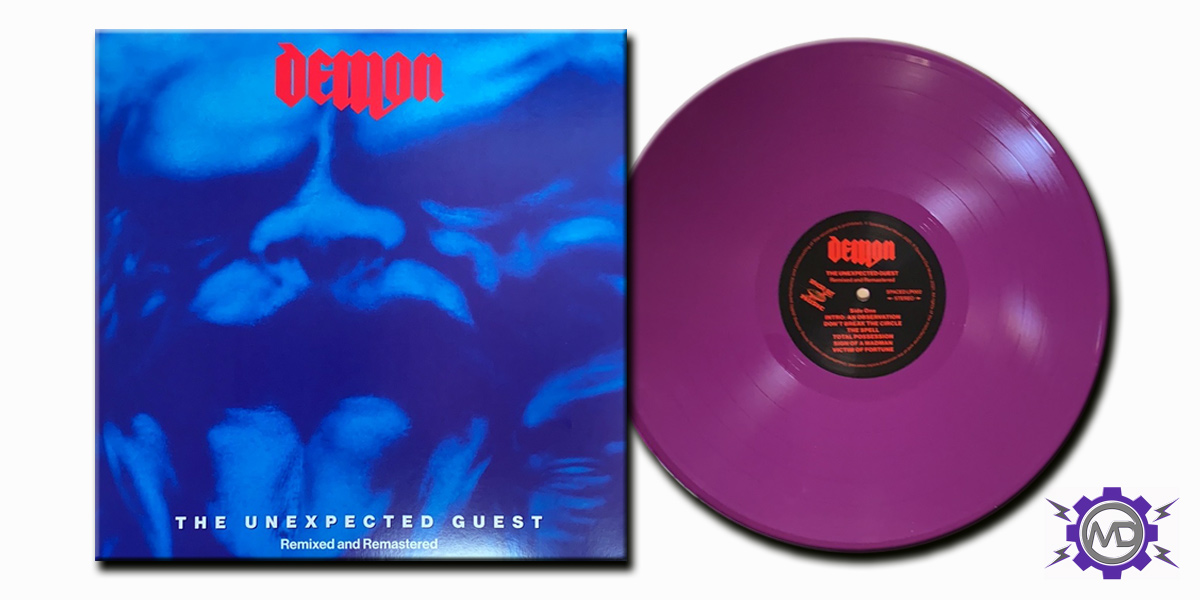 DEMON 'The Unexpected Guest: Remixed And Remastered' LP, purple vinyl
