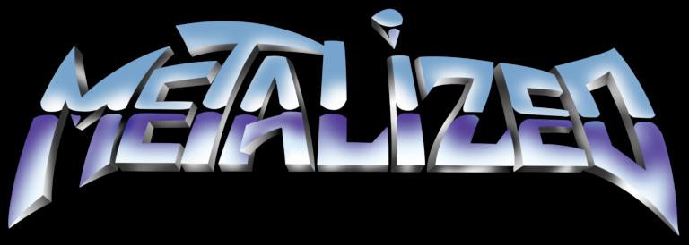 Metalized logo