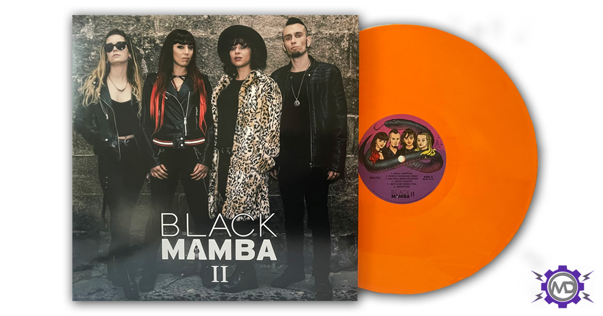 BLACK MAMBA 'II' LP, orange vinyl