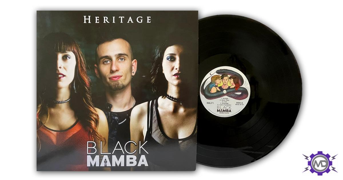 BLACK MAMBA 'Heritage' vinyl LP