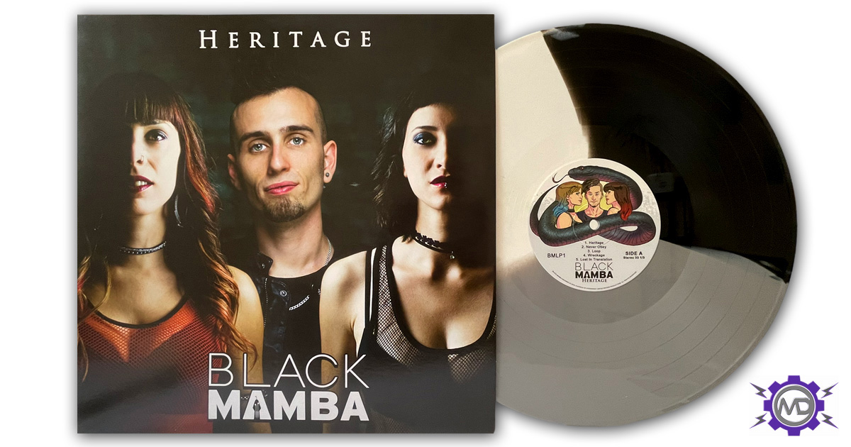 BLACK MAMBA 'Heritage' LP, tri-coloured vinyl