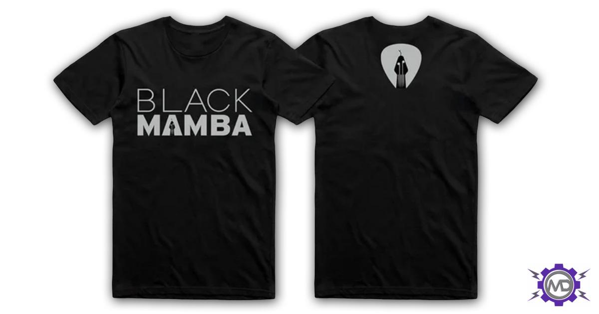 BLACK MAMBA 'Logo' T-shirt