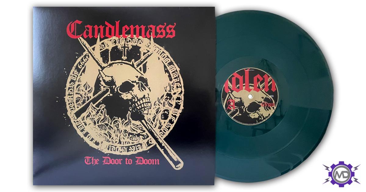 CANDLEMASS 'The Door To Doom' vinyl 2-LP, green vinyl