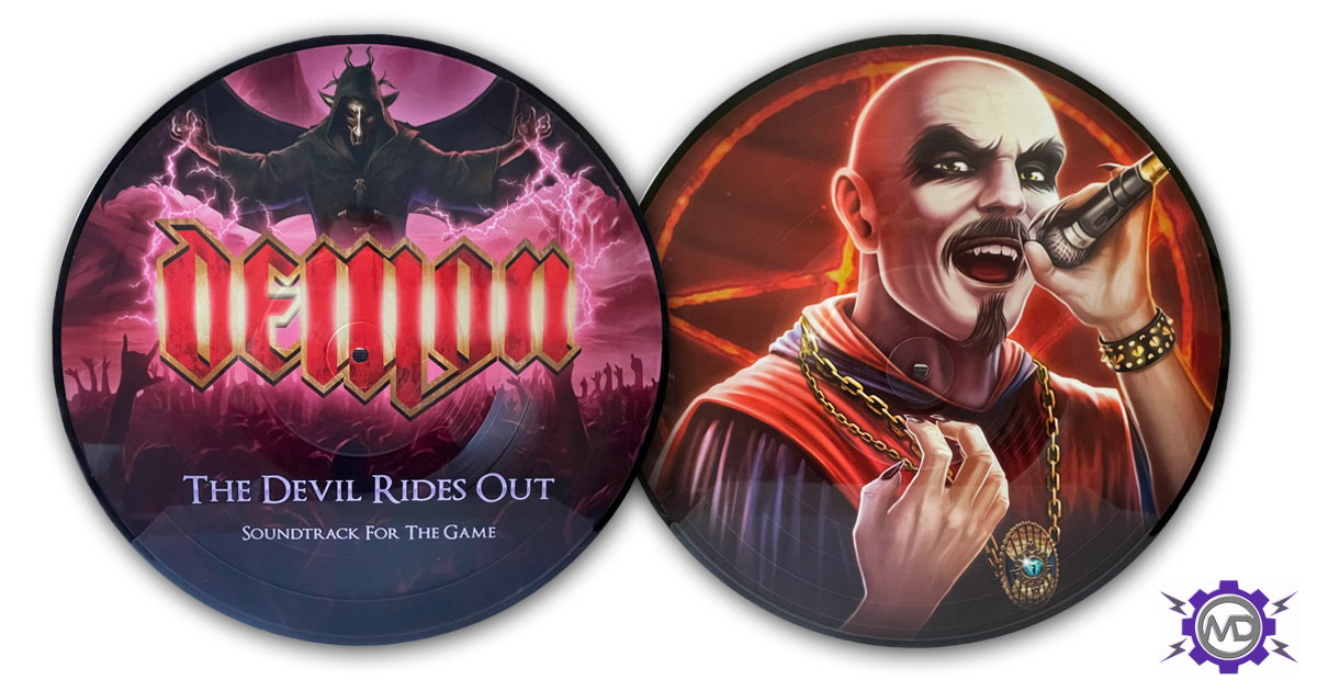 DEMON 'The Devil Rides Out: Soundtrack For The Game' picture-disc LP