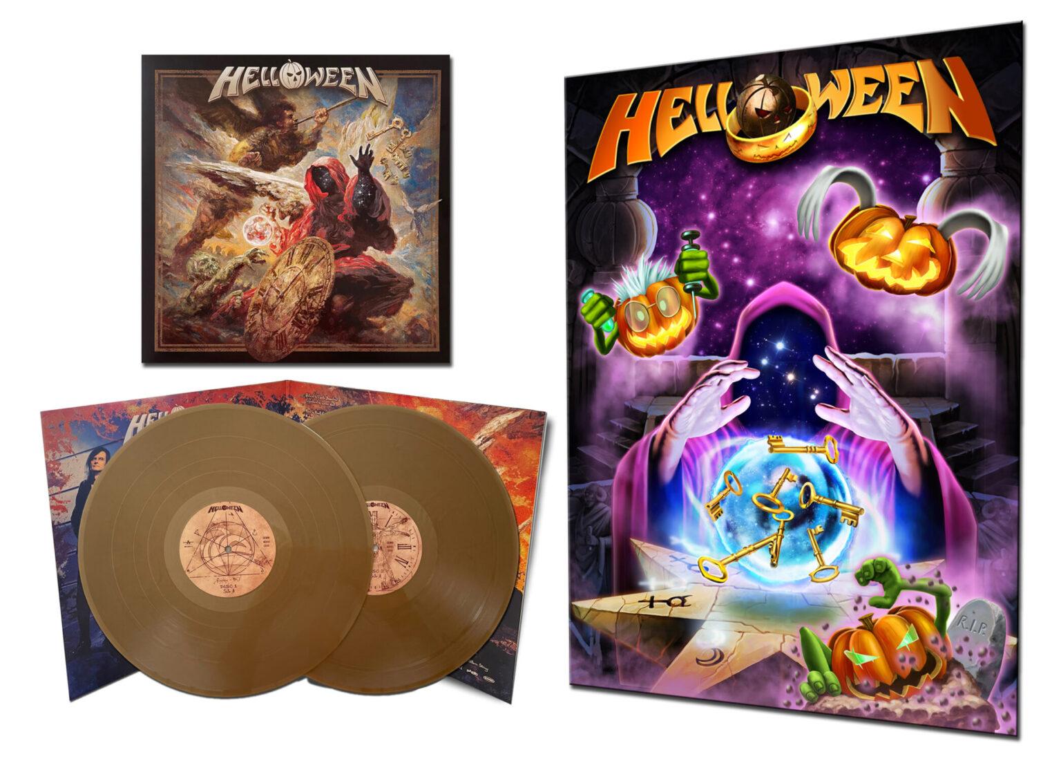 HELLOWEEN 'Helloween' 2021 album 2-LP on gold vinyl + exclusive bonus poster
