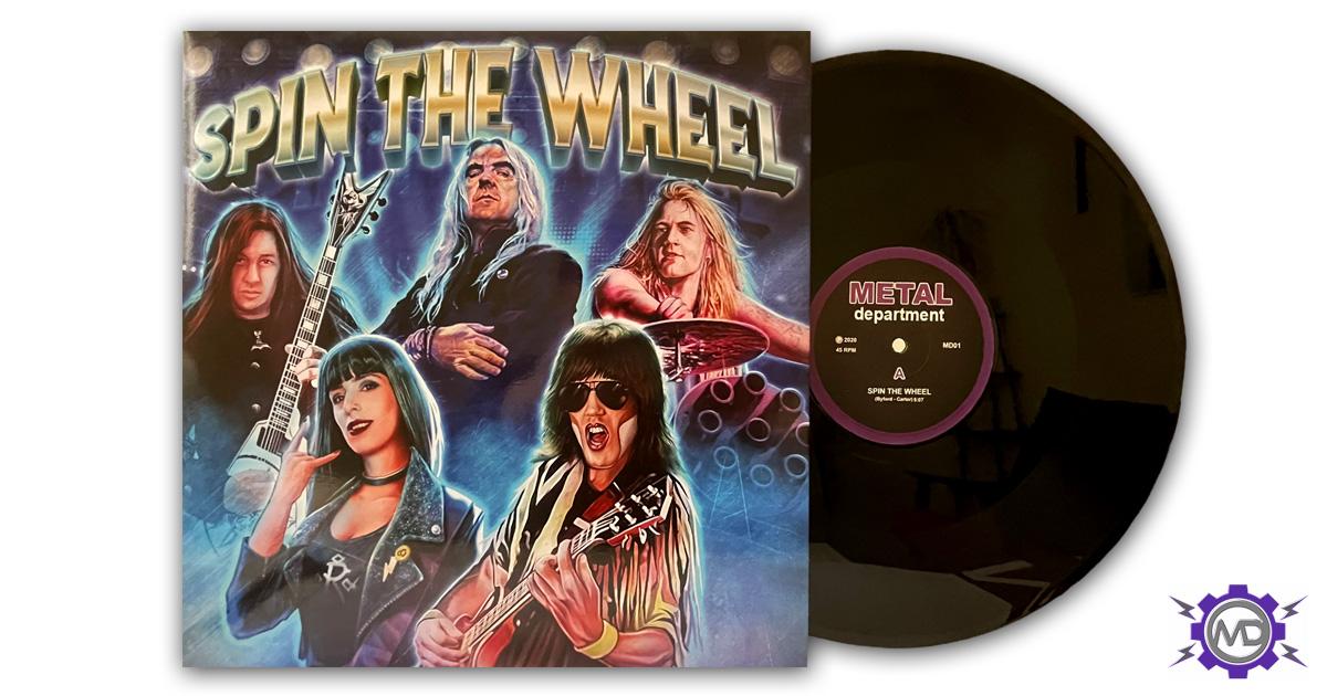 "SPIN THE WHEEL 'Spin The Wheel' 12"" vinyl single"